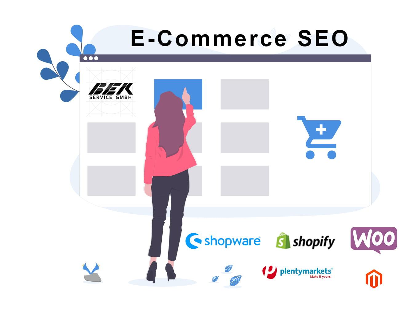 E Commerce Shop SEO All CMS |