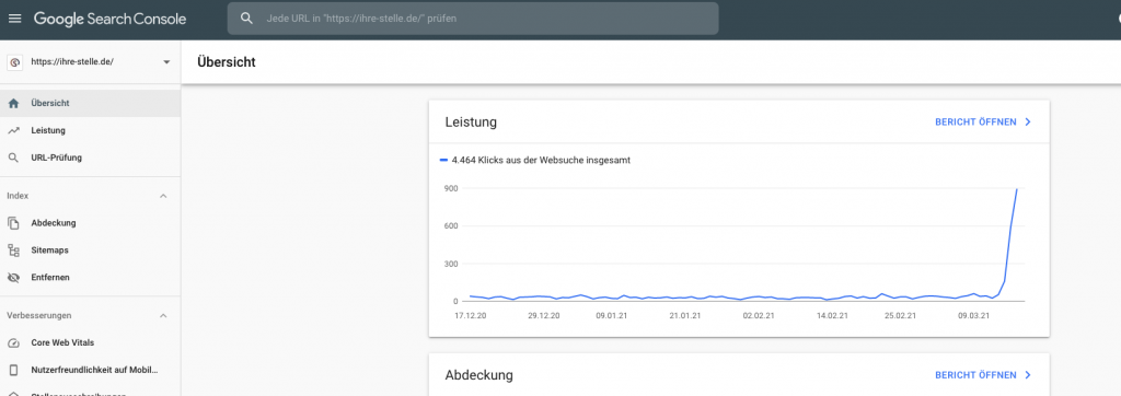 Google-Search-Console-SEO-Leistung-top