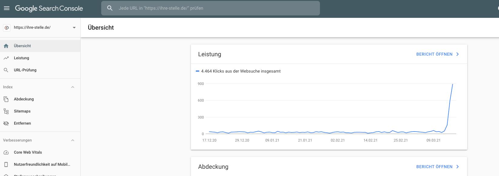 Google-Search-Console-SEO-Leistung-top